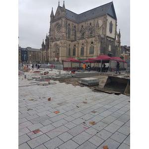 Dallage Louvigné Rennes Place St Anne